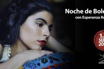"""Esperanza Restucci presenta una """"Noche de Boleros"""" en el Teatro de Rancagua"""