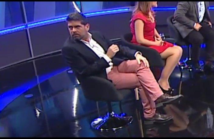 VIDEO | El grosero gesto de Romai Ugarte durante presentación de compañera en CDF