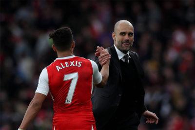 """Guardiola mantiene el suspenso ante posible llegada de Alexis al City: """"Es jugador del Arsenal y creo que va a seguir allí"""""""