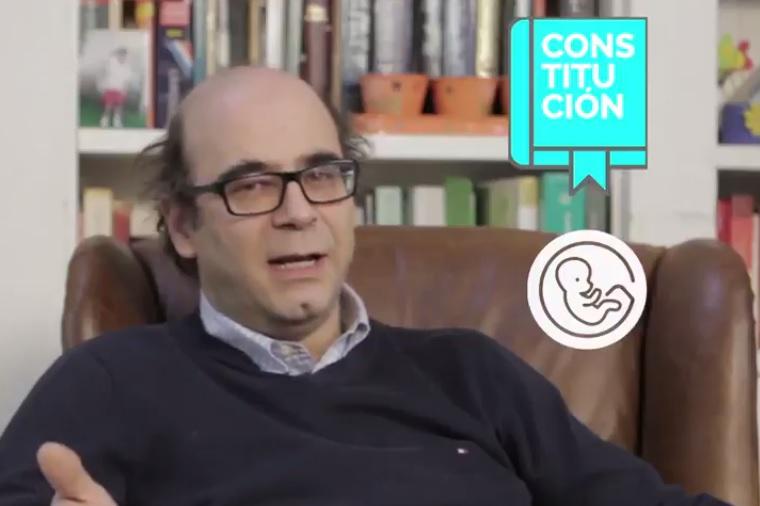 VIDEO | Abogado Fernando Atria explica en un minuto por qué el aborto en 3 causales es constitucional