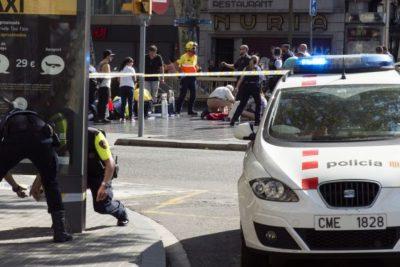 Policía española logra identificar al autor del atentado en Las Ramblas de Barcelona