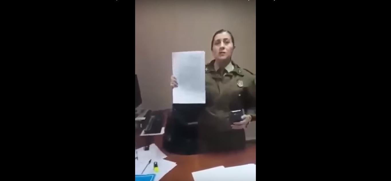 """Carabineros sanciona a funcionaria por denunciar prohibición para amamantar: """"Dañó imagen institucional"""""""