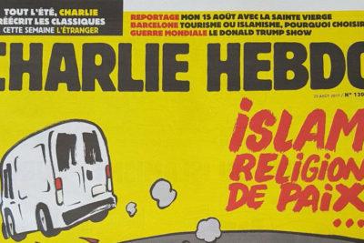 FOTO |Portada del Charlie Hebdo sobre el atentado en Barcelona desata la polémica en Europa