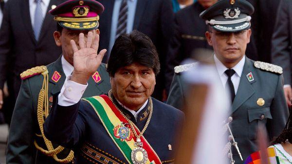 Evo Morales revivió al almirante Merino y su polémica frase en contra de Bolivia