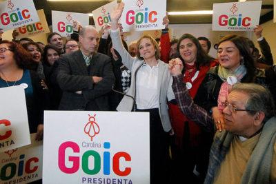 Goic sigue en carrera y baja candidatura de Rincón por violencia intrafamiliar