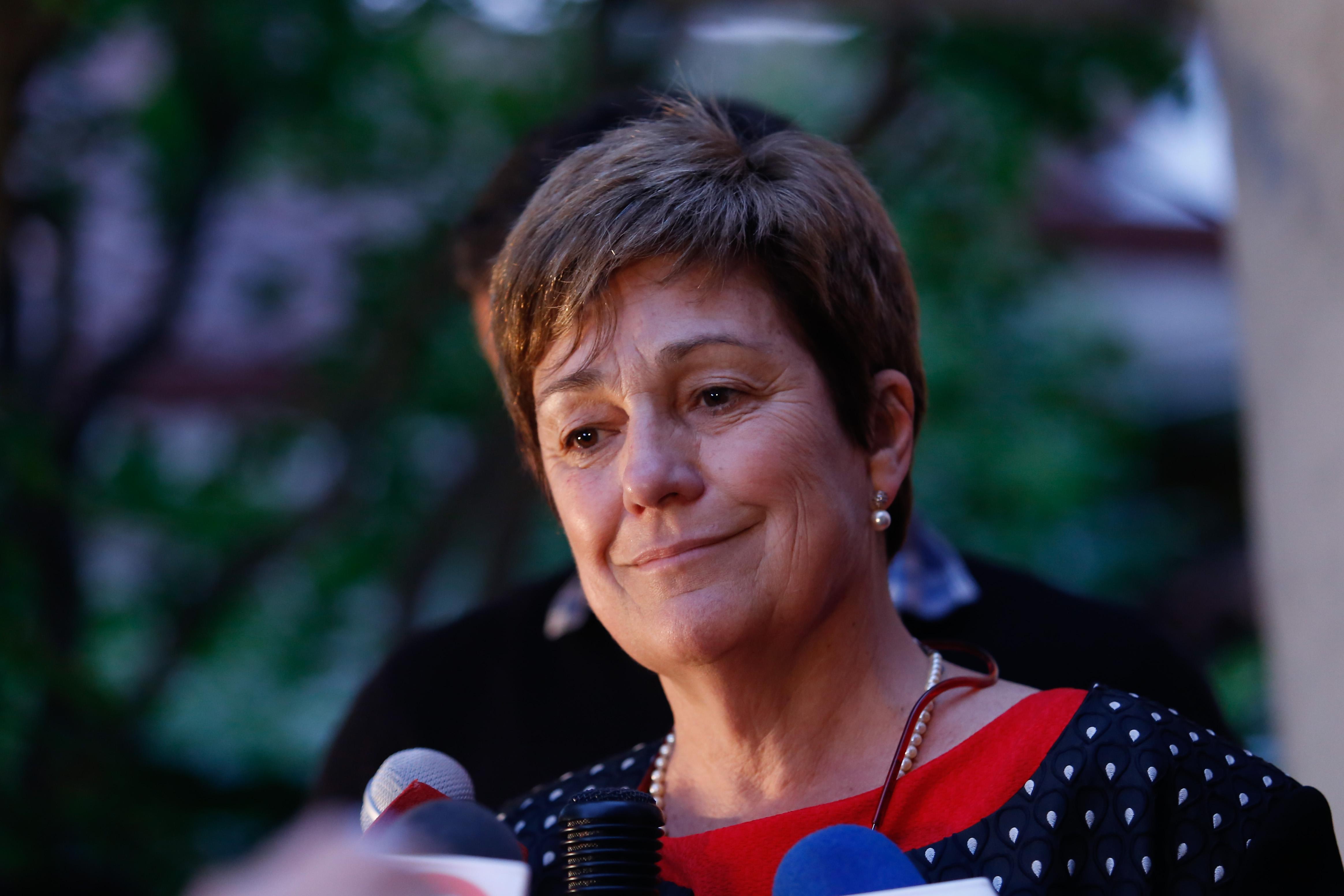 Josefa Errázuriz no cae sola: por primera vez habla sobre el desempeño de RD en educación
