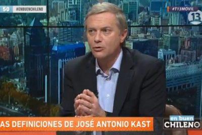 """""""No soy pinochetista"""" y otras comentadas frases de José Antonio Kast en el programa En Buen Chileno"""