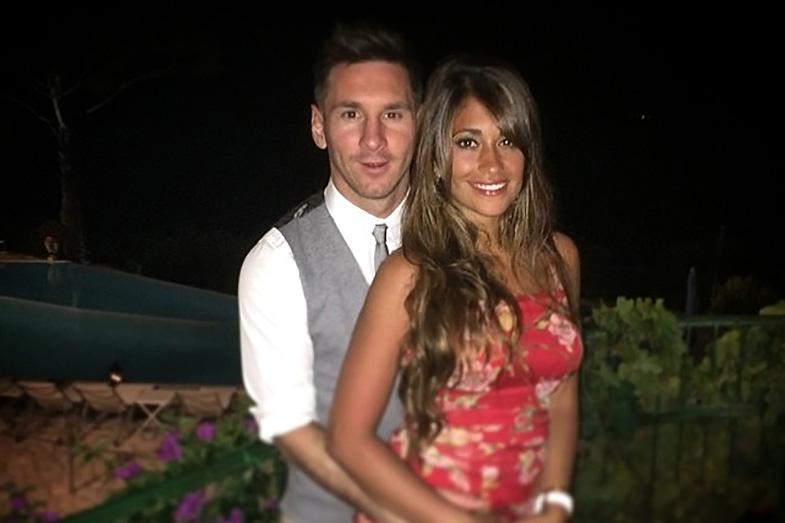 El miserable monto que recaudó Messi en su matrimonio para Techo Argentina