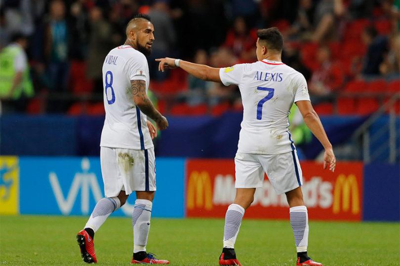 Alexis Sánchez y Arturo Vidal nominados a premio Fifa The Best