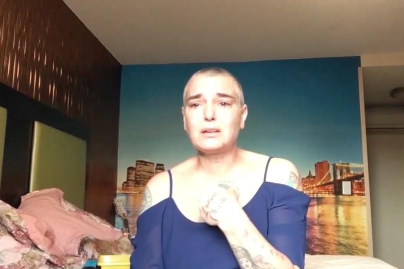 VIDEO |Dramático registro de Sinead O'Connor y su lucha contra los intentos suicidas
