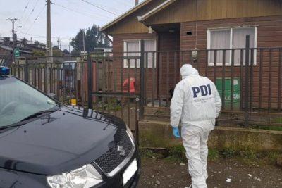 PDI investiga brutal agresión a mujer que fue encontrada con cuchillo clavado en el ojo