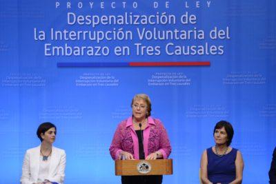 Ley de Aborto en 3 causales sería promulgada este jueves por la Presidenta Bachelet