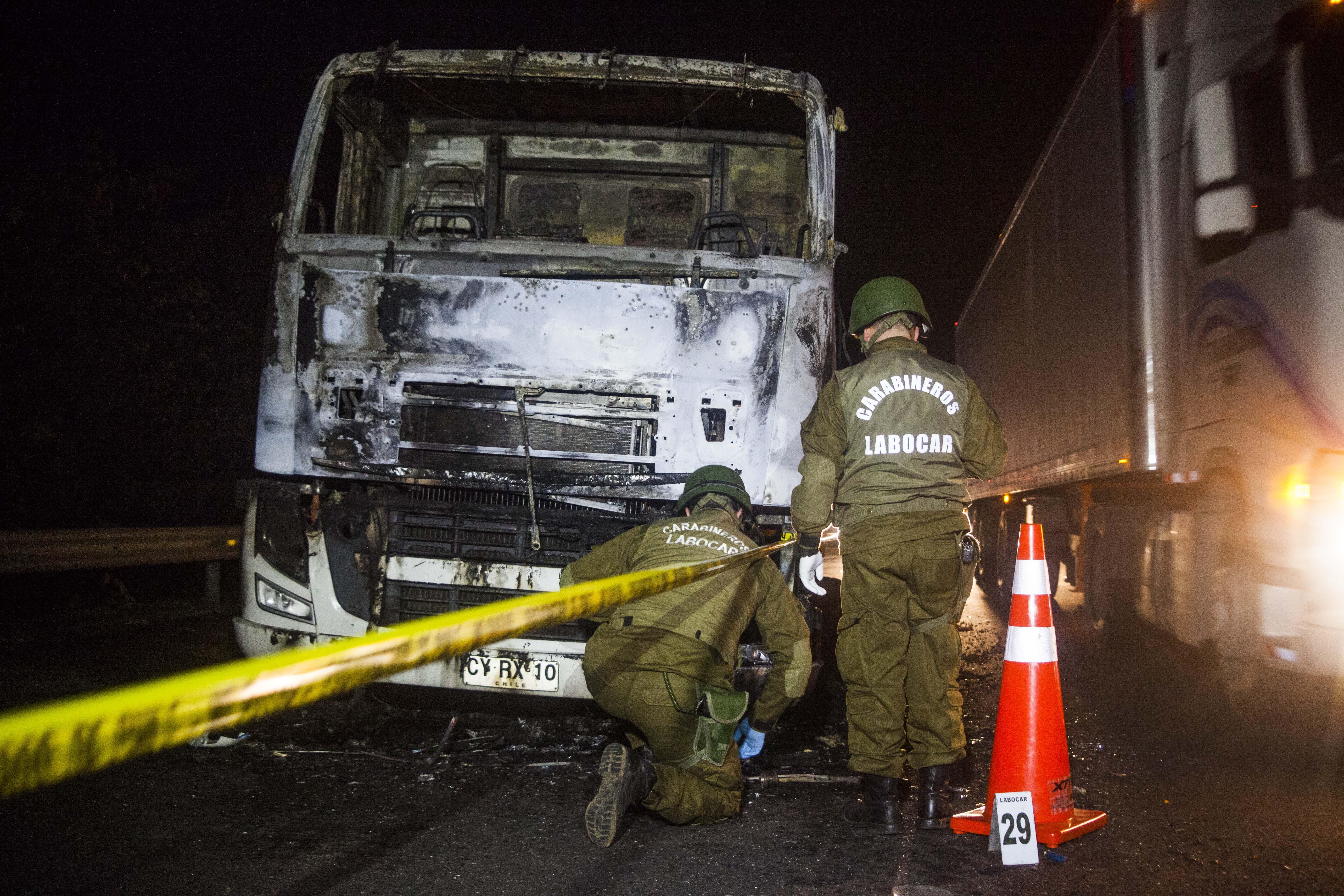 """Gobierno informó 17 """"actos terroristas"""" en La Araucanía durante el primer semestre"""