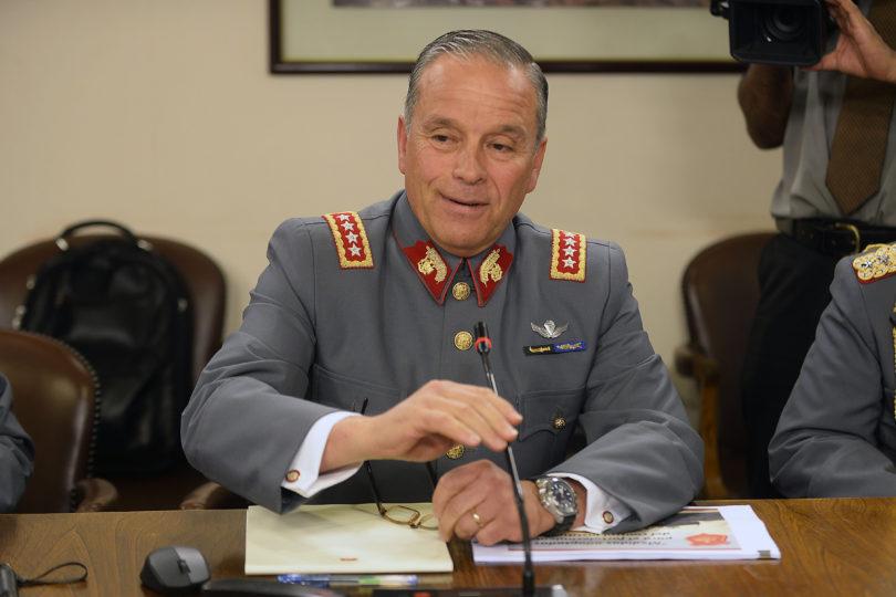 """Comandante en jefe del Ejército: """"No hay ningún requerimiento pendiente de DD.HH"""""""