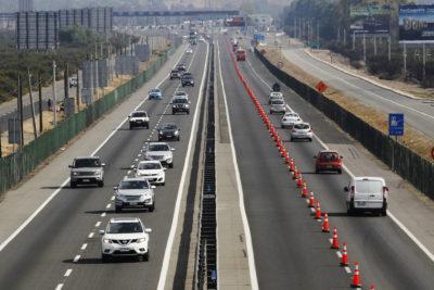 Fiestas Patrias: fijan peajes rebajados para evitar congestiones en horario punta