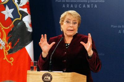 El partido de Bachelet