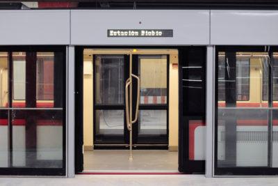 FOTO l Por dentro y por fuera: rayan instalaciones en la nueva estación Estadio Nacional de la Línea 6