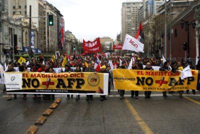 """Coordinadora """"No + AFP"""" convocó a un plebiscito ciudadano para fines de septiembre"""