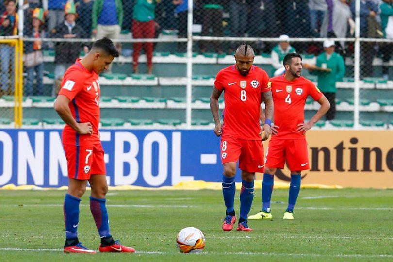 VIDEO | Chile sufre dramática caída ante Bolivia y queda con un pie afuera del Mundial