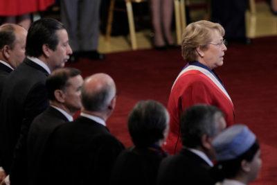 No es tan malo que increpen a Bachelet