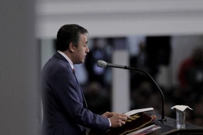 """""""Nunca fui falto de respeto"""" y cuatro frases de Eduardo Durán, el vocero evangélico que criticó a Bachelet"""