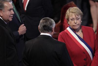 """Gobierno acusa """"falta de respeto"""" a Michelle Bachelet en Te Deum Evangélico"""