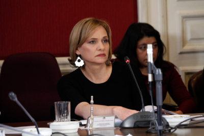 """El llamado de Carolina Goic al Ejército: """"Hay que terminar con los pactos de silencio"""""""