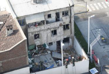 FOTOS | Explosión destruye departamento en pleno barrio Bellavista