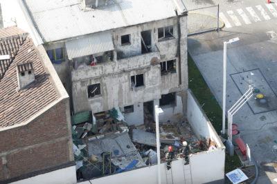 FOTOS   Explosión destruye departamento en pleno barrio Bellavista