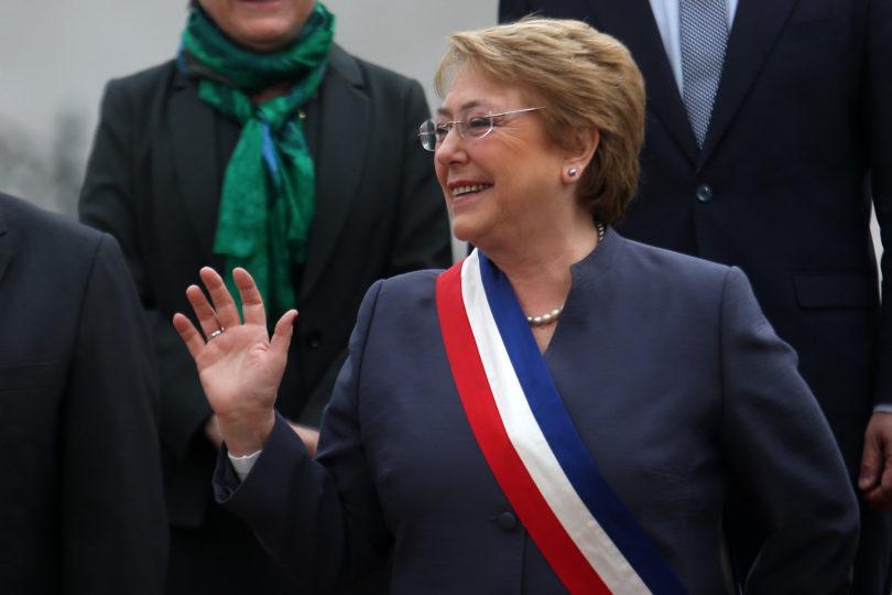 Así fue la última foto oficial de Michelle Bachelet junto a sus ministros previo al Te Deum Ecuménico