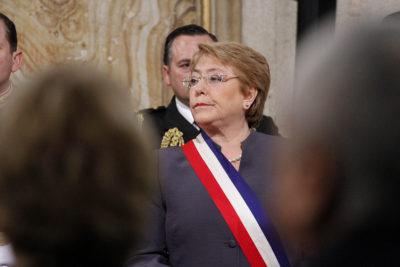 Cadem: Michelle Bachelet alcanzó su aprobación más alta desde marzo de 2015