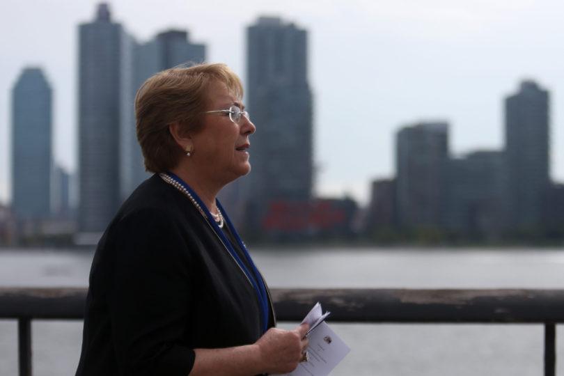 """VIDEO   Aplaudido discurso de Bachelet contra el machismo en ONU: """"Se juzga a las mujeres cómo lucen"""""""