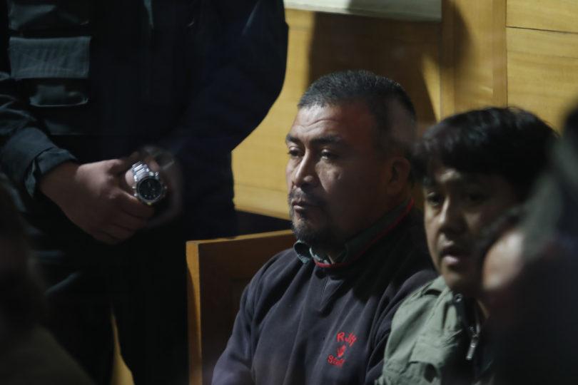Líder de la CAM y otros siete comuneros mapuches quedaron en prisión preventiva