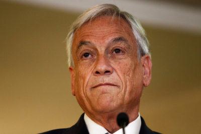 """Piñera acusa """"debilidad y ambigüedad"""" del Gobierno por retiro de Ley Antiterrorista a comuneros en huelga"""