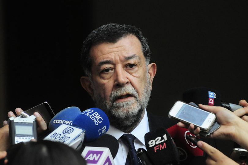 """Aleuy asegura que Argentina """"tiene información relevante"""" sobre eventual tráfico de armas en La Araucanía"""