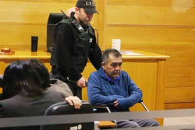 FOTOS | Mapuches en huelga de hambre llegaron en silla de ruedas a audiencia de preparación de juicio oral