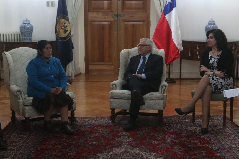 La carta que entregaron los familiares de comuneros en huelga de hambre a la Presidenta Bachelet