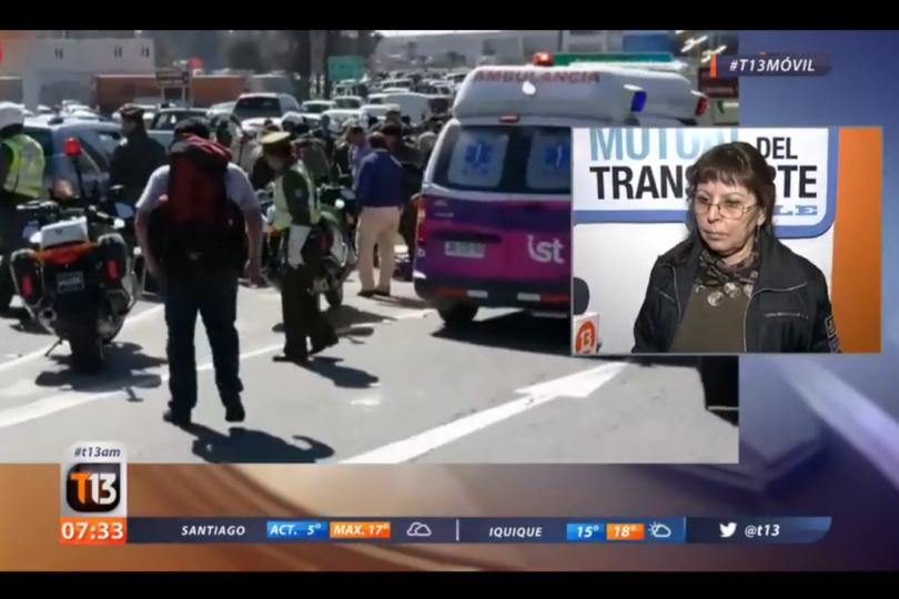 VIDEO | Diez frases para el bronce de la vocera de los taxistas por muerte de turista tras bloqueo
