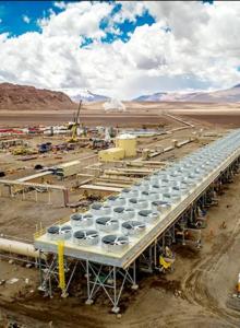 Se inaugura la primera planta geotérmica de Sudamérica en la Región de Antofagasta