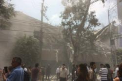 VIDEOS |Dramáticos registros de cómo se desplomaron edificios en el terremoto de Ciudad de México