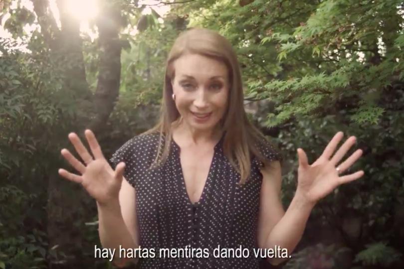 El ácido video de Karen Doggenweiler donde recalca que gerente de Cadem trabajó con Piñera