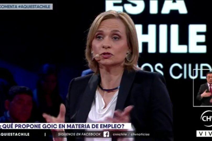 VIDEOS | Estándar ético: el momento en que Goic tambalea justificando candidaturas DC cuestionadas