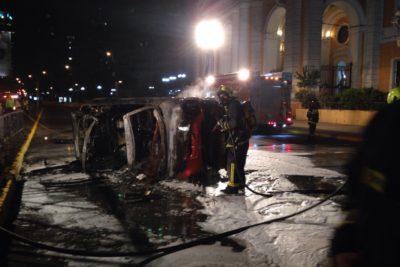 VIDEOS | Conductor de impactante accidente en Providencia es ex participante de reality show: 80% del cuerpo quemado
