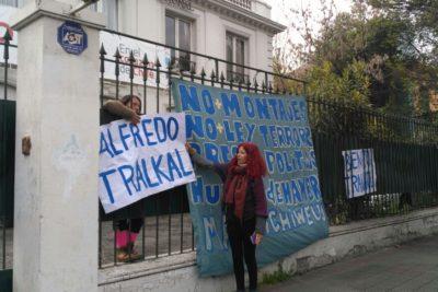 Desalojan a las cinco mujeres que se tomaron RN aludiendo a comuneros mapuche