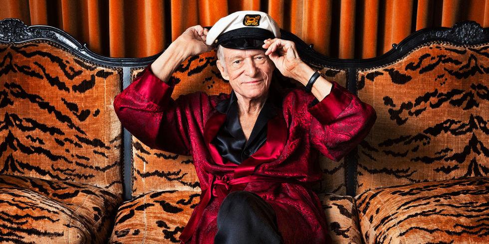 """""""A los 91 años muere el fundador de la revista Playboy Hugh Hefner"""""""