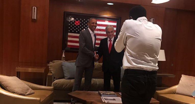 Chadwick descartó que Sebastián Piñera haya pagado para reunirse con Barack Obama