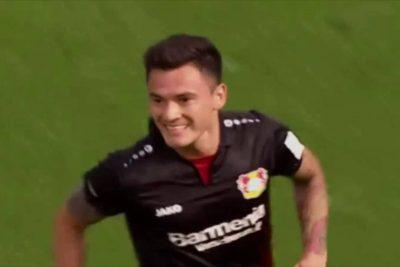 VIDEO |Charles Aránguiz despertó en Alemania y marco este golazo desde fuera del área