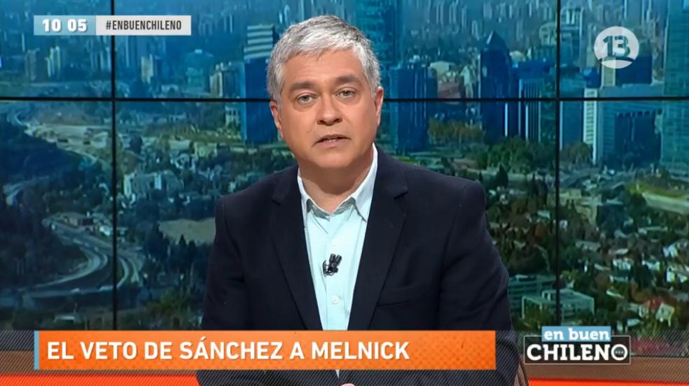 La defensa corporativa de Iván Valenzuela a Canal 13 por el veto de Beatriz Sánchez