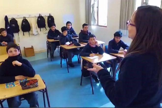 """Colegio al que asistió el """"Zafrada"""" fue el mejor del Simce de Escritura"""