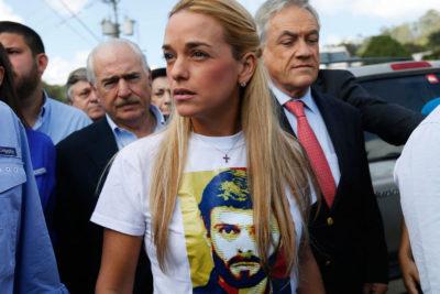 Lilian Tintori será imputada tras ser sorprendida con 200 millones de bolívares en efectivo